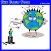 Cartoon: Restraining order (small) by toons tagged planet,earth,restraining,order,big,oil