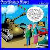 Cartoon: Road rage (small) by toons tagged road,rage,tanks,traffic,fuel,economy,car,sales,used,cars