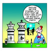 Cartoon: royalty around here (small) by toons tagged chess,royal,family,royals,pubs,bars,staring,drinking,games