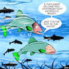 Cartoon: Salmon run (small) by toons tagged salmon,spawning,bears,fish,not,in,the,mood