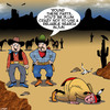 Cartoon: Search engine (small) by toons tagged cowboys,and,indians,injuns,search,engine,computers,google,american,indian
