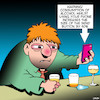 Cartoon: Send button (small) by toons tagged texting,whiole,drunk,warning,sign,send,button,alcohol,consumption