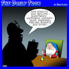 Cartoon: Seven Dwarfs (small) by toons tagged snow,white,dwarfs,side,effects,fairy,tales