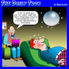 Cartoon: Seventies (small) by toons tagged mirror,ball,seventies,disco,era,phobias