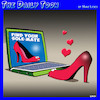 Cartoon: Shoe dating site (small) by toons tagged soulmate,sole,shoes