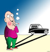 Cartoon: Smokers future (small) by toons tagged smoking,anti,lung,cancer,smokers,rights,cigarettes,related,illness,hearse,death,disease,funeral