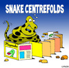 Cartoon: snake centrefolds (small) by toons tagged snakes,reptiles,girlie,magazines,playboy,pin,up,glamour,posing,animals,photography