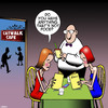 Cartoon: Supermodels (small) by toons tagged supermodels,anorexic,skinny,models,restaurant,catwalk,cafe,fashion,menu