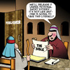 Cartoon: The Bible (small) by toons tagged publishing,books,short,stories,fiction