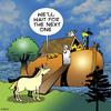 Cartoon: The next one (small) by toons tagged unicorns,noahs,ark,bible
