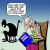Cartoon: Those were the days (small) by toons tagged tattoos,old,people,photo,albums,on,pensioners