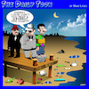 Cartoon: Tidal chart (small) by toons tagged mafia,tides,execution,wharf,hit,gangsters