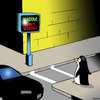 Cartoon: waddle (small) by toons tagged penguins,pedestrians,traffic,lights