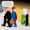 Cartoon: Water cooler (small) by toons tagged vodka,office,water,cooler,recruitment,alcohol