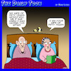 Cartoon: Wedding anniversary (small) by toons tagged dementia,memory,loss,marriage,longevity,affairs,infidelity