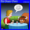 Cartoon: Where the Buffalo roam (small) by toons tagged buffalo,bison