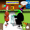 Cartoon: Wicked Witch (small) by toons tagged kindergarton,witches,kids,pre,school,childcare,centre