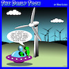 Cartoon: Wind farms (small) by toons tagged wind,turbine,flying,saucer,aliens,energy