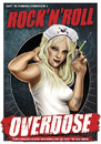 Cartoon: Overdose (small) by toonsucker tagged rock,music,girl,drugs,scene,blonde,sexy,nurse,medicine,addiction