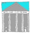 Cartoon: Betty Ford Clinic (small) by Müller tagged bettyfordclinic,rehab,addiction,sucht,entzug,abstinenz,drugs,drogen