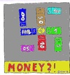 Cartoon: MONEY ? ! (small) by Müller tagged money,geld,faschismus