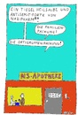 Cartoon: NS-Apotheke (small) by Müller tagged ns,apotheke,pharmacy,nazi,antisemit