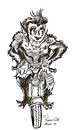Cartoon: BIG HOG RIDING WOLFMAN (small) by Toonstalk tagged wolfman harley motorcycle easy rider