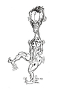 Cartoon: DANCING DAYS ARE HERE AGAIN (small) by Toonstalk tagged alien dance fever