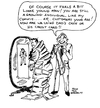 Cartoon: SHARP DRESSED MAN (small) by Toonstalk tagged salesman,commision,mirror,suits,customer