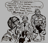 Cartoon: ULTIMATE WARRIORS (small) by Toonstalk tagged mike,tyson,hannibal,the,cannibal,ultimate,warriors