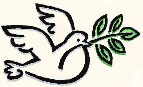 Cartoon: PAX (medium) by RnRicco tagged dove,pidgeon,peace,branch,twig,olive