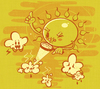 Cartoon: sunshine (small) by bkopf tagged sun,cloud,killer,bkopf