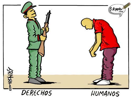 Cartoon: Derechos humanos (medium) by jrmora tagged china,pekin,beijing,olimpiadas