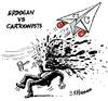 Cartoon: Erdogan vs cartoonists (small) by jrmora tagged erdogan,musa,kart,cartoonist,turkey