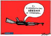 Cartoon: Fundamentalismo (small) by jrmora tagged charlie,hebdo,atentado,francia