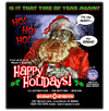 Cartoon: Merry Xmas from Zombie Santa (small) by monsterzero tagged xmas,santa,zombie,christmas