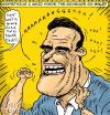 Cartoon: no more taxes! (small) by monsterzero tagged arnold,schwarzenegger,governor,california,