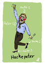 Cartoon: Hackepeter (small) by Anitschka tagged hackepeter,fleisch,deutsch,alkohol