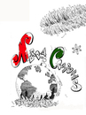 Cartoon: MERRY CRISIS (small) by Fredy tagged christmas,crisis