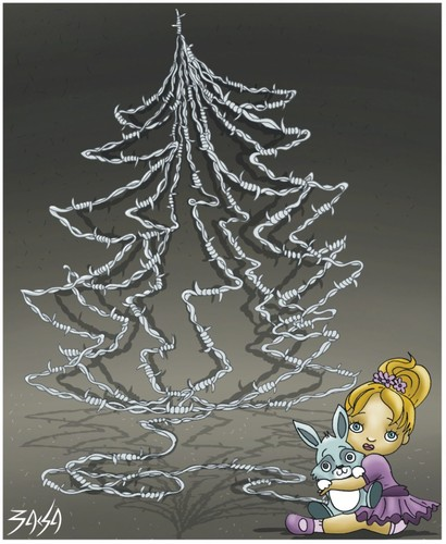 Cartoon: Christmas (medium) by bacsa tagged christmas