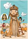Cartoon: Cleopatra (small) by bacsa tagged cleopatra