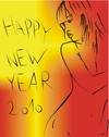 Cartoon: Happy New Year (small) by bacsa tagged happy new year