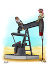 Cartoon: Oil (small) by bacsa tagged oil