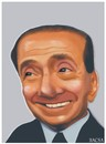 Cartoon: Silvio Berlusconi (small) by bacsa tagged berlusconi