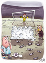 Cartoon: Soccer (small) by bacsa tagged soccer
