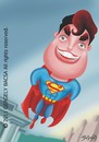 Cartoon: Superman (small) by bacsa tagged superman