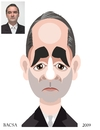 Cartoon: Tibor Gyurian (small) by bacsa tagged tibor,gyurian