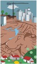 Cartoon: Urbanization (small) by bacsa tagged urbanization