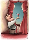 Cartoon: Wine (small) by bacsa tagged wine
