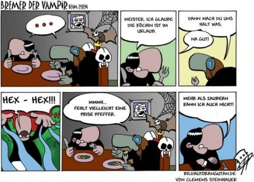 Cartoon: Bremer (medium) by Clemens tagged vampir,comic